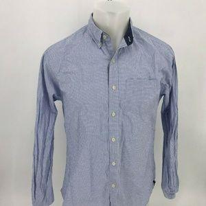 Brooks Brothers Men Shirt Sz M Long Sleeve 7-22
